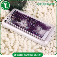Shiny glitter glow stars PC case for iphone4, 5, 6, 6plus, samsung, huawei, xiaomi