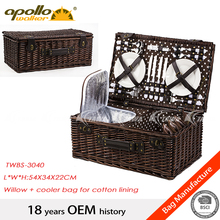 wholesale poly wicker basket set
