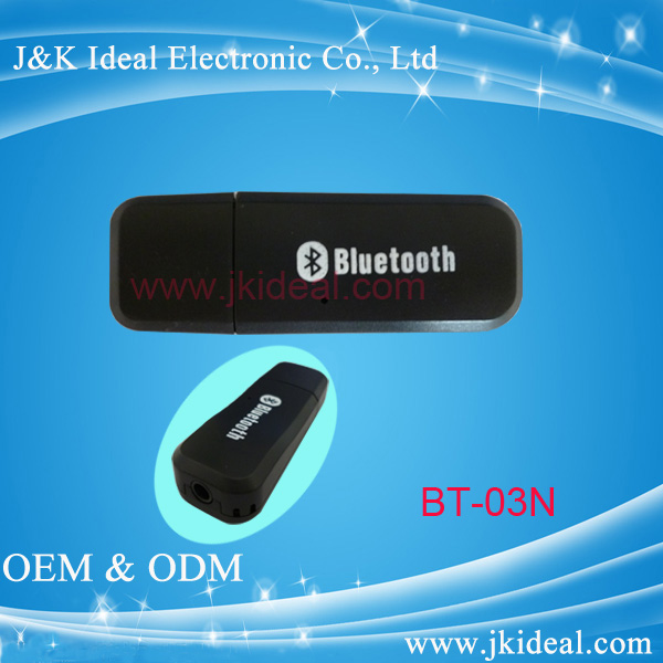 BT-03 cheaper price good 3.5mm AUX av usb bluetooth 4.0 adapter dongle
