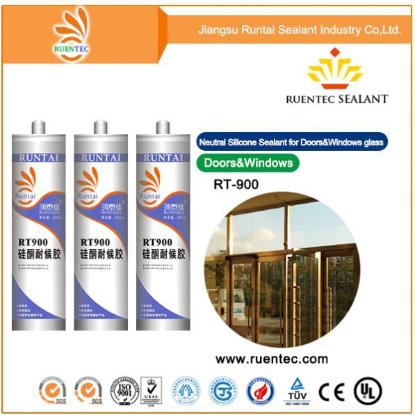 Glass Rubber Metal Ceramic/Decorative Flexibility/Neutral Silicone Sealant