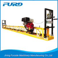 FZP-60 vibratory truss screed, 5.5HP honda engine surface finishing screed
