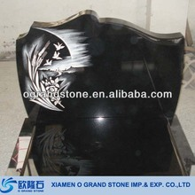 Grave Monument Slab Angels Monuments And Headstones China Black Granite Monuments