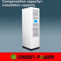 hot selling easy maintenance digital control clean power 400V power factor compensator cubicle