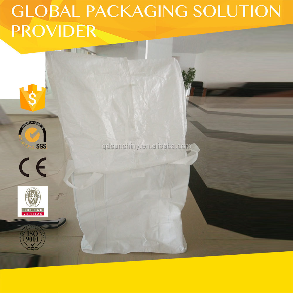Fertilizer use PP woven dry bulk container liner bag FIBC Jumbo bags