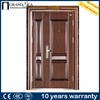 Apartment main gate 8 panel steel entry door for home