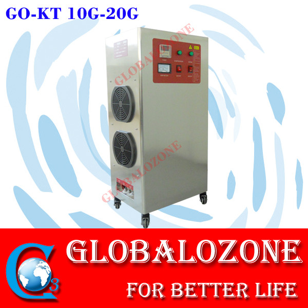 New arrival !! Movable ozone sterilizer 10g/hr multifunctional ozone generator machine