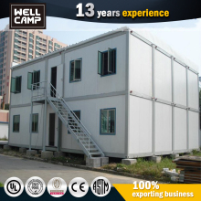 Movable Prefabricated House Detachable Container House Labour Two Floor Dormitory Residential Containers