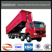 Top Brand heavy duty 10 wheeler trucks sinotruk howo dump truck for sale