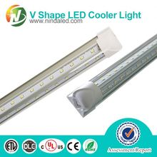 2015 new style and cheap led cooler light tube with tempered glass lense