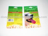 40g dog food zipper bag with hang hole