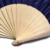 factory price customized spanish wooden hand fan