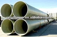 GRP sand filling water pipe