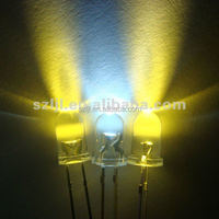 Yellow/white/warm white/red/green/bule 5mm high brightness led diodes