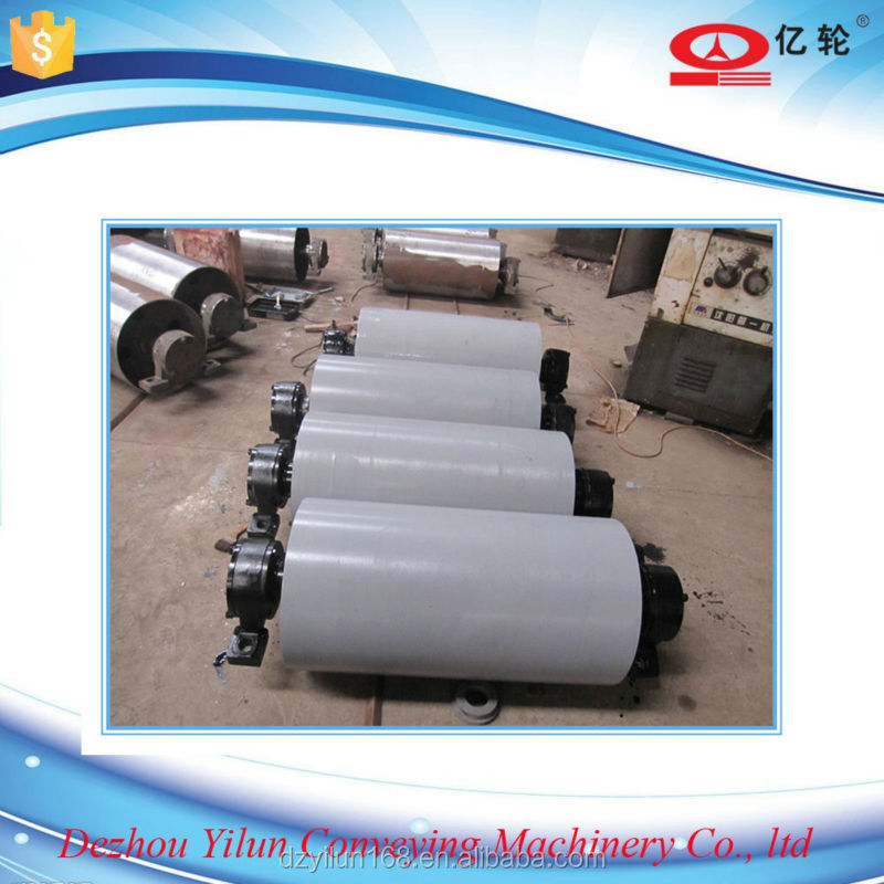 belt conveyor pulley, drive pulley, tail pulley