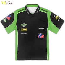 wholesale sublimated custom pit crew shirts