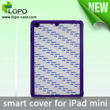 New printable Sublimation tablet Smart Cover For iPad mini 1/2