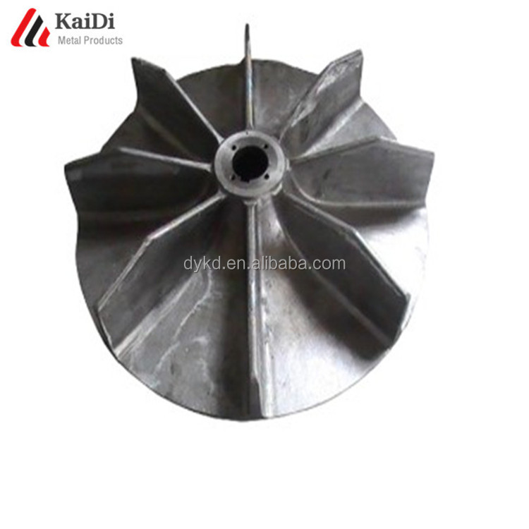 Investment Lost Wax Turbine Casting Impeller