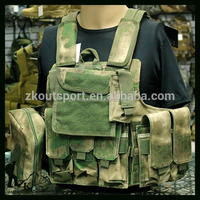 USMC Tactical Military Combat Vestal. Fully loaded