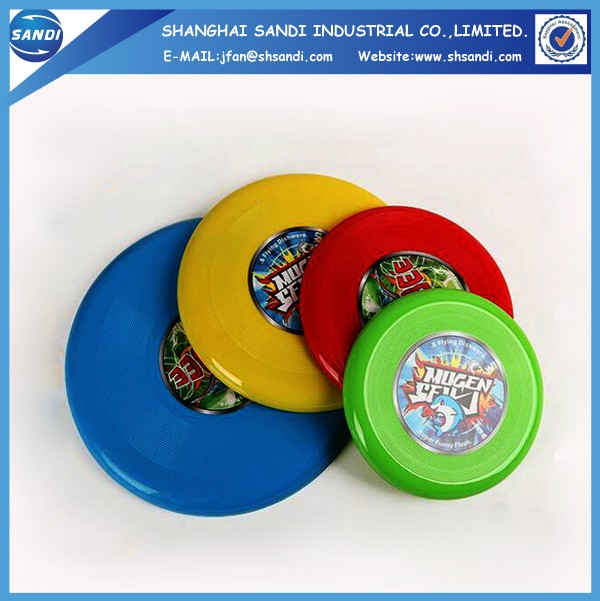 Custom LOGO printed plastic ultimate dog frisbee