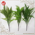 SFB37075-C6234 Home & garden decoration plastic green plants artificial frond leaves spray