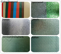 color coated embossed aluminium sheet