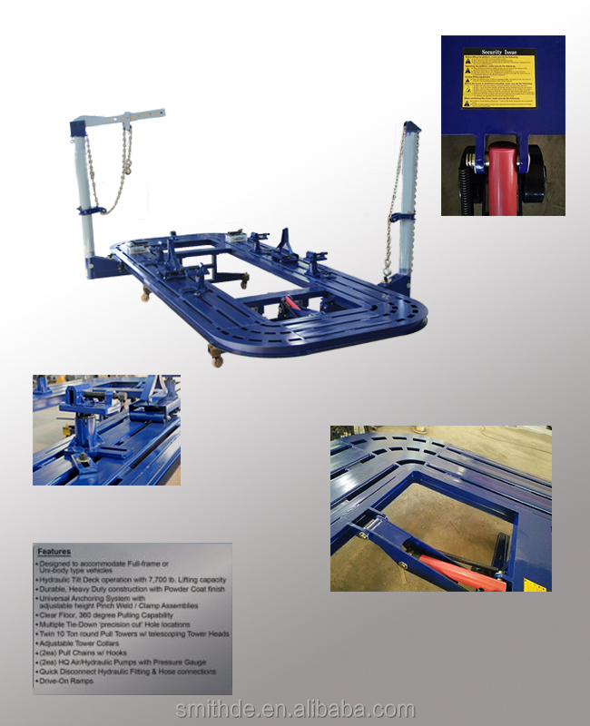 Auto Straightening Machine/straightener/pull Post/car Body Repair ...