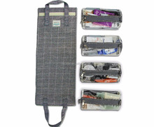 Universal Portable Waterproof Customized Roll Up EVA Electronic Accessories Organizer