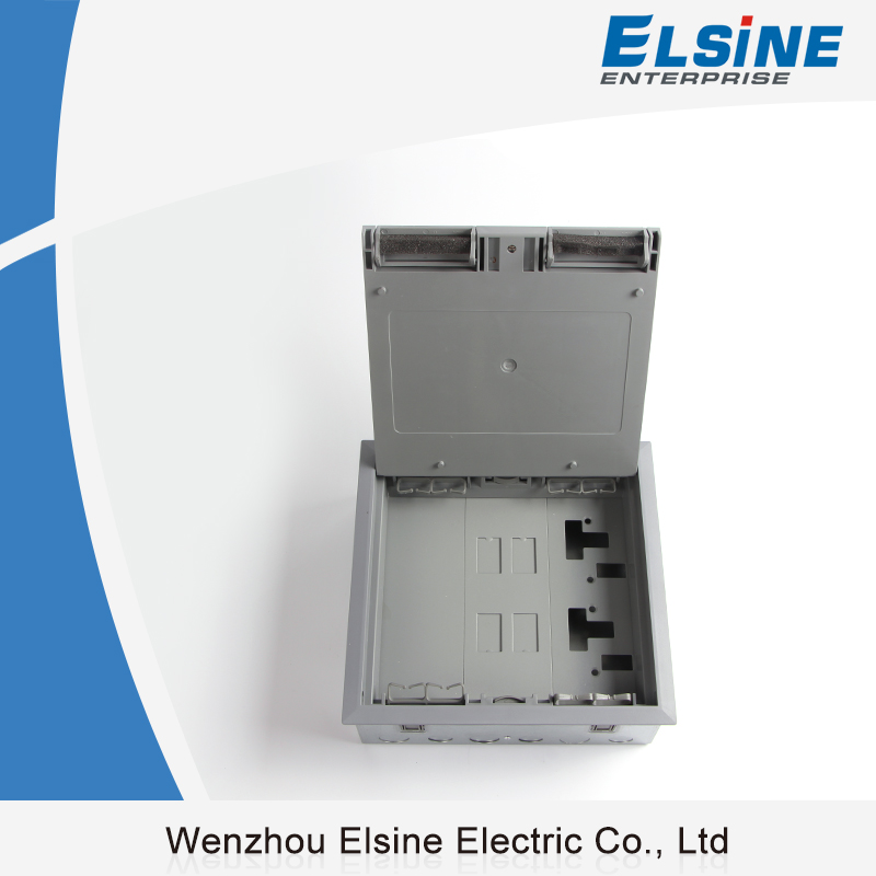 Elsine Electric Flush outlet Under Floor box With 13A Sockets Plates