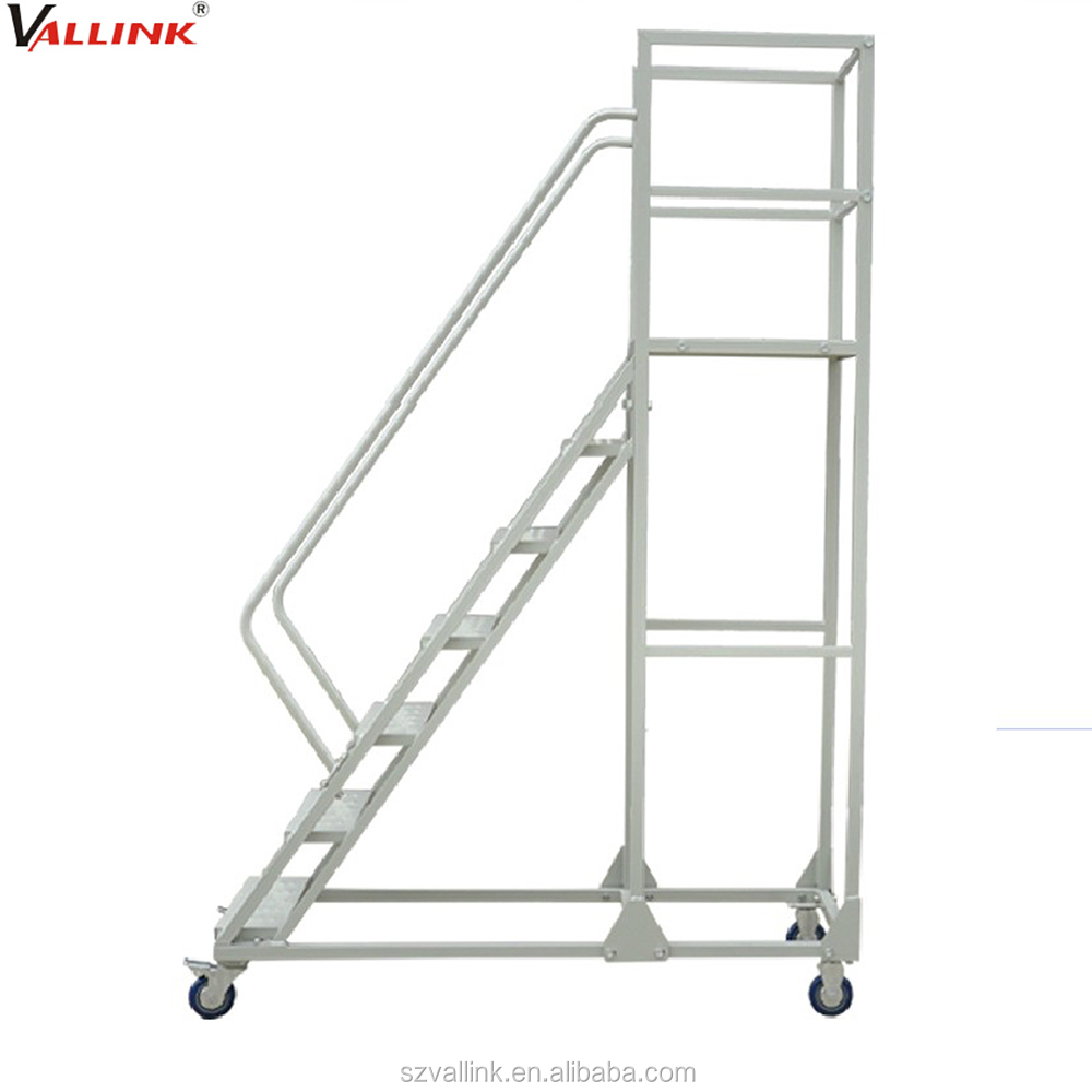 Portable Stairs With Handrail : High quality mobile portable stairs with handrail buy