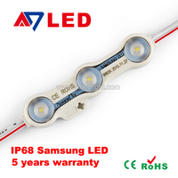 new arrival IP68 1.2w constant current Samsung 2835 led module with lens