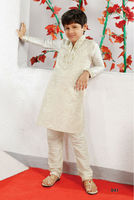 Designer Kid's Kurta With Churidar