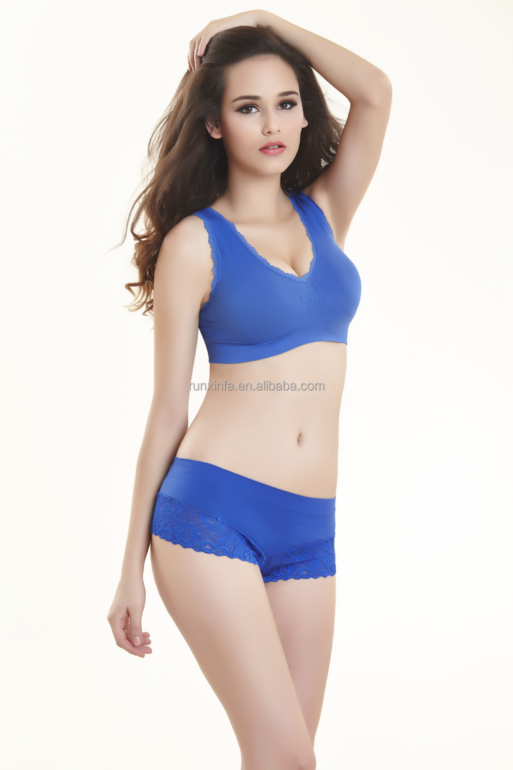 Women lingerie Sexy-bra-panty-new design from shantou China factory
