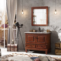 American Euro style washroom use antique bathroom vanities and cabinets