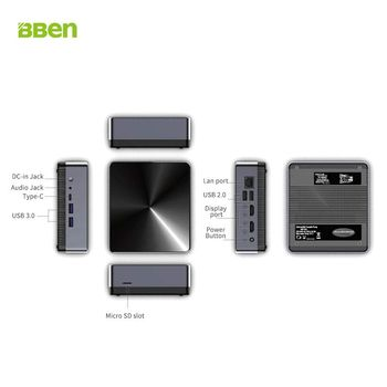 Bben mini pc Kaby Lake I3-8130U 16Gb 32Gb ram 256Gb 512Gb SSD 1TB HDD mini windows pc