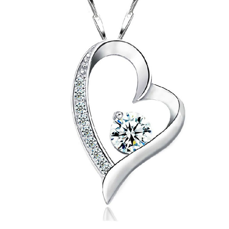 <strong>necklace</strong> for women and girls silver 925 sterling jewelry 12064
