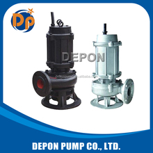Cast iron waste water submerged pumps