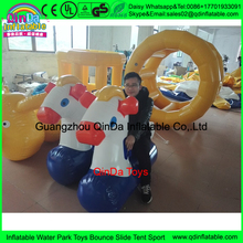 PVC bouncing animals 2 girls 1 horse ride on,inflatable jumping horse racing horse little pony