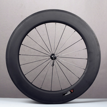 High quality 700C cycling wheels road rims clincher 88mm hight 23mm width carbon wheel