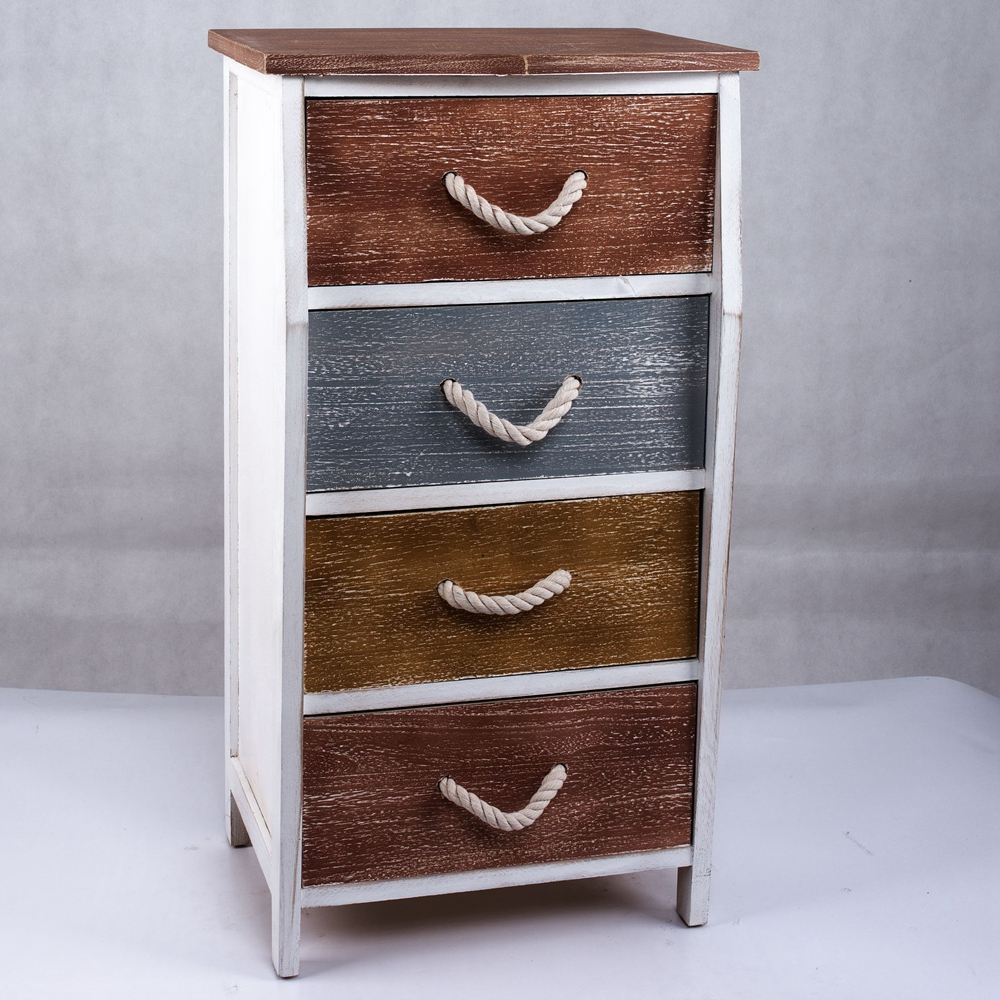 Unique Silver Wood Rustic Acrylic Nightstand