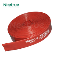 pvc red color best selection irrigation pipe anti-low temperature water hose