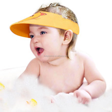 Pink, Very Comfortable, adjustable, Baby Shower Cap, Baby Sun Visor,Prevents water in eyes