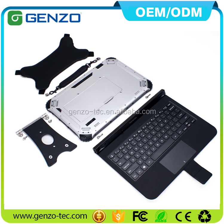 12.2 inch W indows 10/Android 5.1 Waterproof IP67 Industrial 3G /4G WIFI BT4.0 GPS 32GB / 64GB Rugged Tablet with GLONASS GPS
