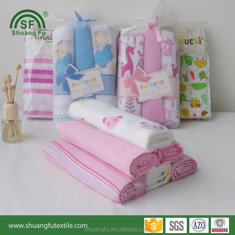 washable resuable 100% cotton baby diapers wholesale