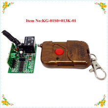 wireless remote controller /rf receiver with 1Channel learning code