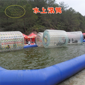 Amusement water park inflatable tumbleweed ball for sale
