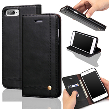 Magnetic Flip Leather Wallet Cover Case For iPhone 5 5S SE 6 6S 7 Plus Aliexpress Hot Selling Silicone Back Cases
