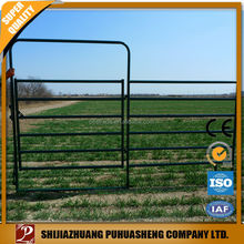 Gold supplier China galvanized iron farm gate/fence