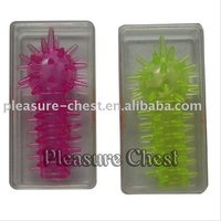 thorny new condom adult toy penis tip extender sleeves