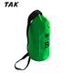 Floating 15L 500D PVC Outdoor Green Camping Flexible Waterproof Dry Bag