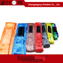 polyester industrial belt flat webbing and rigging webbing tape heavy duty polyester sling
